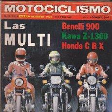 Coches y Motocicletas: REVISTA MOTOCICLISMO Nº 635 EXTRA DICIEMBRE BENELLI 900 KAWA Z-1300 HONDA CBX. Lote 109365715