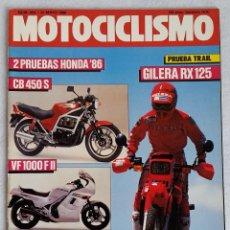 Coches y Motocicletas: REVISTA MOTOCICLISMO Nº 954. AÑO 1986. 22 DE MAYO. CCAVENDE. Lote 102781135