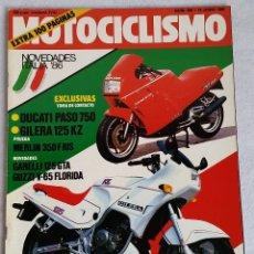 Coches y Motocicletas: REVISTA MOTOCICLISMO Nº 958. AÑO 1986. 19 DE JUNIO. CCAVENDE. Lote 102782367