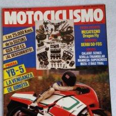 Coches y Motocicletas: REVISTA MOTOCICLISMO Nº 976. AÑO 1986. 23 DE OCTUBRE. CCAVENDE. Lote 102784019
