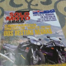 Coches y Motocicletas: ANTIGUA REVISTA SOLO MOTO ACTUAL AÑO 1993 NUMERO 877 . Lote 110071479