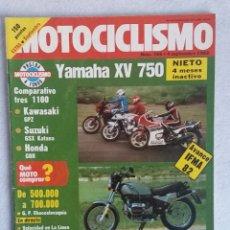 Coches y Motocicletas: REVISTA MOTOCICLISMO Nº 766. AÑO 1982. EXTRA SEPTIEMBRE. YAMAHA XV 750. COMP. KAWA, SUZUKI, HONDA.. Lote 102795767