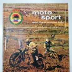 Coches y Motocicletas: REVISTA MOTO SPORT ORGANO OFICIAL DEL MOTOCICLISMO ESPAÑOL NUMERO 91 OCTUBRE 1978. Lote 110539155