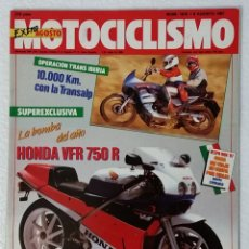 Coches y Motocicletas: REVISTA MOTOCICLISMO Nº 1015. AÑO 1987. 6 AGOSTO . EXTRA AGOSTO. CCAVENDE.. Lote 103390591
