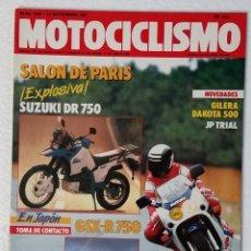 Coches y Motocicletas: REVISTA MOTOCICLISMO Nº 1030. AÑO 1987. 19 NOVIEMBRE . CCAVENDE.. Lote 103388775