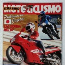 Coches y Motocicletas: REVISTA MOTOCICLISMO Nº 985. AÑO 1987. 25 DICIEMBRE 1986 - 1 ENERO 1987. EXTRA ENERO. CCAVENDE.. Lote 103384143