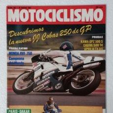 Coches y Motocicletas: REVISTA MOTOCICLISMO Nº 987. AÑO 1987. 15 ENERO . CCAVENDE.. Lote 103386151
