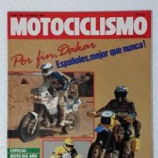 Coches y Motocicletas: REVISTA MOTOCICLISMO Nº 989. AÑO 1987. 29 ENERO . CCAVENDE.. Lote 103386275
