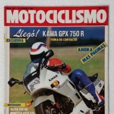 Coches y Motocicletas: REVISTA MOTOCICLISMO Nº 991. AÑO 1987. 12 FEBRERO . CCAVENDE.. Lote 103386427