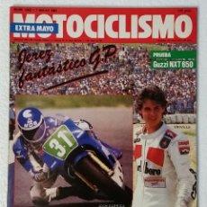 Coches y Motocicletas: REVISTA MOTOCICLISMO Nº 1002. AÑO 1987. 7 MAYO . EXTRA MAYO. CCAVENDE.. Lote 103387331