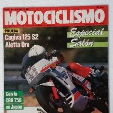 Coches y Motocicletas: REVISTA MOTOCICLISMO Nº 1003. AÑO 1987. 14 MAYO . CCAVENDE.. Lote 103387415