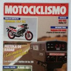 Coches y Motocicletas: REVISTA MOTOCICLISMO Nº 1018. AÑO 1987. 27 AGOSTO . CCAVENDE.. Lote 103388155