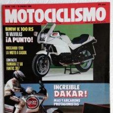 Coches y Motocicletas: REVISTA MOTOCICLISMO Nº 1143. AÑO 1990. 18 ENERO. BMW K - 100 RS. BOCCARDO 1200. YAMAHA TZ / TZR 50. Lote 110827195