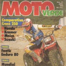Coches y Motocicletas: MOTO VERDE *** HONDA * KRAMER * MAICO* SUZUKI * ENDURO 80. Lote 110875259