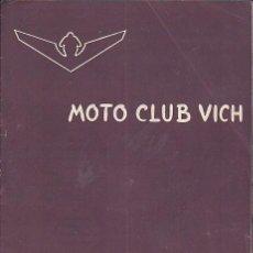 Coches y Motocicletas: BOLETIN INFORMATIVO MOTO CLUB VIC Nº 6. Lote 111116899