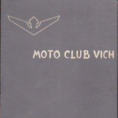 Coches y Motocicletas: BOLETIN INFORMATIVO MOTO CLUB VIC Nº 8. Lote 111116931
