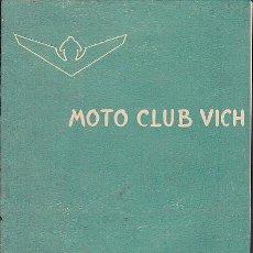 Coches y Motocicletas: BOLETIN INFORMATIVO MOTO CLUB VIC Nº 9. Lote 111117175
