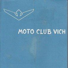 Coches y Motocicletas: BOLETIN INFORMATIVO MOTO CLUB VIC Nº 10. Lote 111117199