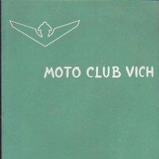 Coches y Motocicletas: BOLETIN INFORMATIVO MOTO CLUB VIC Nº 11. Lote 111117219