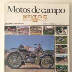 Coches y Motocicletas: MOTOS DE AYER - MOTOS DE CAMPO. Lote 111590286
