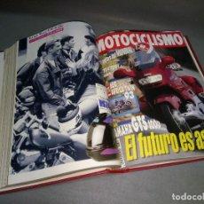 Coches y Motocicletas: 1018- TOMO ENCUADERNADO DE REVISTAS MOTOCICLISMO (NÚMEROS 1300/09) AÑO 1993 ( Nº 3). Lote 111776619