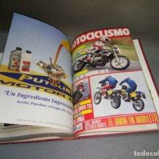 Coches y Motocicletas: 1018- TOMO ENCUADERNADO DE REVISTAS MOTOCICLISMO (NÚMEROS 1200/09) AÑO 1991 Nº 9. Lote 111781335