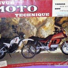 Coches y Motocicletas: REVUE MOTO TECHNIQUE. Nº 55. 1990:YAMAHA / BMW. Lote 111831279