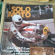 Coches y Motocicletas: **REVISTA,---SOLO MOTO--- 26 ABRIL 1979. Lote 111962875