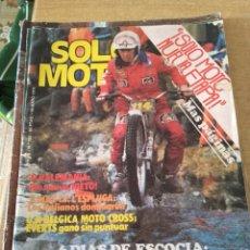 Coches y Motocicletas: **REVISTA,---SOLO MOTO--- 10 MAYO 1979**. Lote 111964054