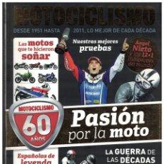 Coches y Motocicletas: MOTOCICLISMO ESPECIAL 60 AÑOS 1951/2011. Lote 112118807