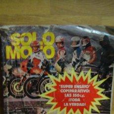 Coches y Motocicletas: REVISTA SOLO MOTO Nº 272 FEBRERODE 1981. Lote 112730831