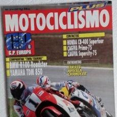 Coches y Motocicletas: REVISTA MOTOCICLISMO Nº 1267. AÑO 1992. 4 JUNIO. PLUS JUNIO. CCAVENDE. Lote 112750399