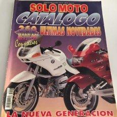 Coches y Motocicletas: CATALOGO DE LA REVISTA SOLO MOTO 93 DE 1993 360 MOTOS CON PRECIOS Y ULTIMAS NOVEDADES. Lote 112884087