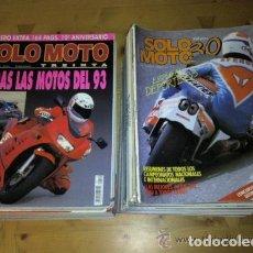 Coches y Motocicletas: REVISTA SOLO MOTO TREINTA 30, AÑOS 80 Y 90, VER NUMEROS, SOLOMOTO. Lote 150423434