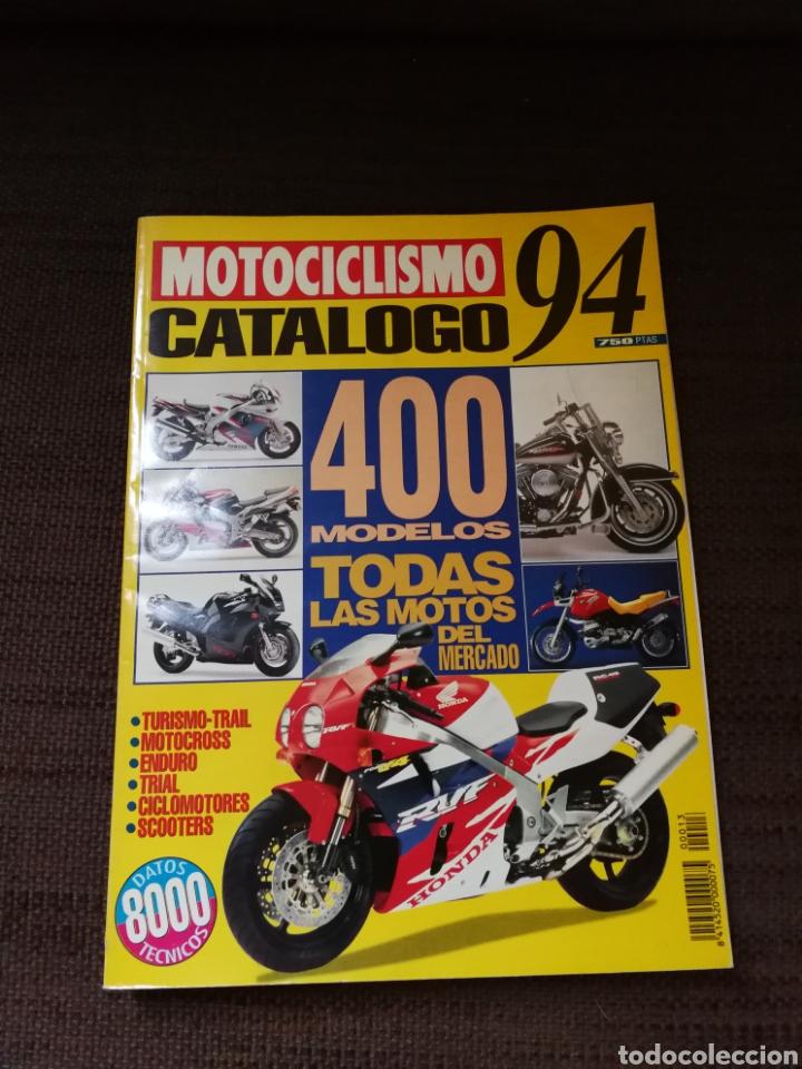 MOTOCICLISMO CATÁLOGO 94 (Coches y Motocicletas - Revistas de Motos y Motocicletas)