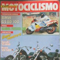Coches y Motocicletas - MOTOCICLISMO 1019 1987, KAWASAKI VN 1500, VS 1400, BMW R 80 100 GS, CAGIVA FRECCIA 125 DERBI ASPAR - 113569119