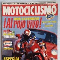Coches y Motocicletas: REVISTA MOTOCICLISMO Nº 1419. AÑO 1995. 2 AL 8 MAYO . CCAVENDE. Lote 191648298