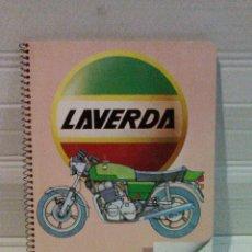 Coches y Motocicletas: CUADERNO BLOCK SAM MOTO LAVERDA. Lote 113813712