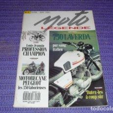 Coches y Motocicletas: MOTO LEGENDE Nº 4 - DOSSIER LAVERDA 750 -. Lote 114029195