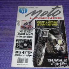 Coches y Motocicletas: MOTO LÉGENDE Nº 1 - PRUEBA KAWASAKI 750 H2 -. Lote 114288063