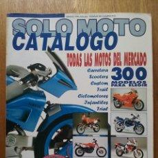 Coches y Motocicletas: SOLO MOTO CATALOGO 1990 SOLOMOTO. Lote 114312655