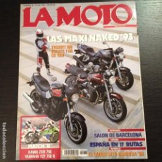 Coches y Motocicletas: LA MOTO Nº 38 - TRIUMPH TIGER 900 KAWASAKI KLX 650 HONDA CB 1000 TRIUMPH TRIDENT 900 KAWASAKI ZEPHYR. Lote 114390963