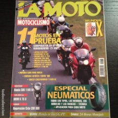 Coches y Motocicletas: LA MOTO Nº 76 - GUZZI CALIFORNIA 1100 HONDA XRV 750 AFRICA TWIN HONDA CBR 900 BMW 75/5. Lote 114392291