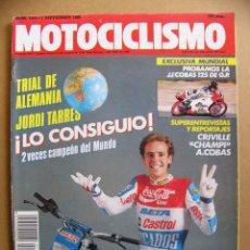Coches y Motocicletas: MOTOCICLISMO 1124 BETA KR 50 ADVENTURE GARELLI FORM UNO RAID RIEJU HELIOS SUZUKI RMX JJ COBAS 125. Lote 139010590