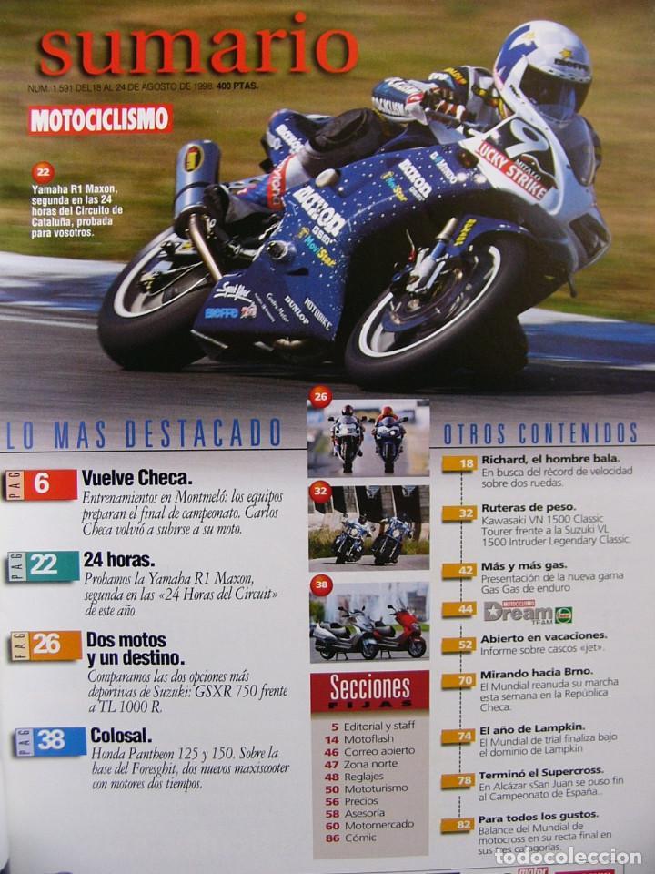 Coches y Motocicletas: Motociclismo 1591 Suzuki GSXR 750 TL 1000 R Kawasaki VN 1500 Suzuki Intruder Honda Pantheon - Foto 2 - 115509891