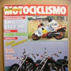 Coches y Motocicletas - Motociclismo 1019 Kawasaki VN 1500 VS 1400 BMW R 80 100 GS Cagiva Freccia 125 Laverda DR 600 - 115511951