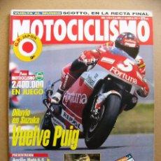 Coches y Motocicletas: MOTOCICLISMO 1418 HARLEY DAVIDSON FAT BOY HONDA SHADOW VT 1100 APRILIA MOTO 6.5 SUZUKI BANDIT 600. Lote 115512863