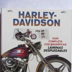 Coches y Motocicletas: HARLEY-DAVIDSON GUIA COMPLETA, CON MAGNÍFICAS LAMINAS DESPLEGABLES. 1999. Lote 115706707