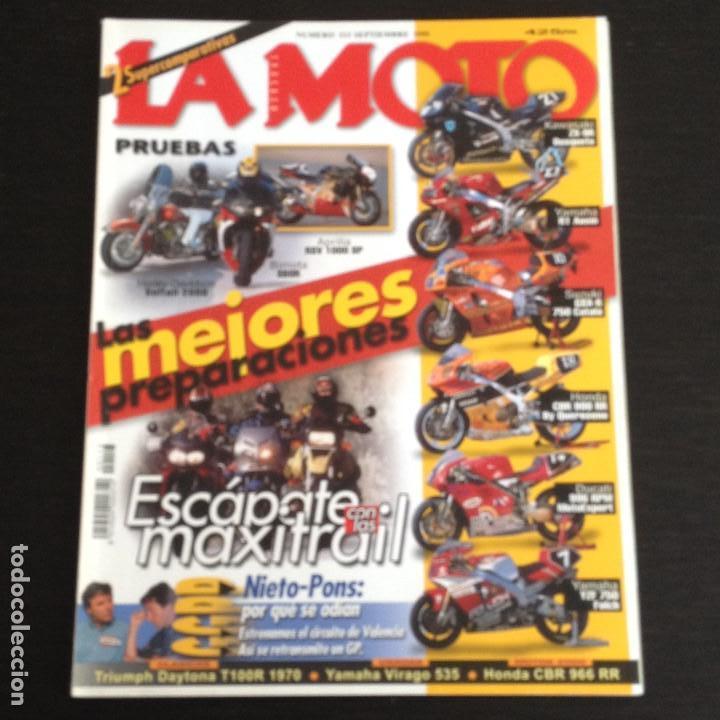 La Moto Nº 113 Triumph Daytona T100r 500 Aprili Buy Old Magazines