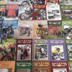 Coches y Motocicletas: LOTE 30 PRIMEROS NUMEROS REVISTA MOTOS DE AYER DEL 1 AL 30 DERBI MONTESA BULTACO OSSA DUCATI SANGLAS. Lote 116236347